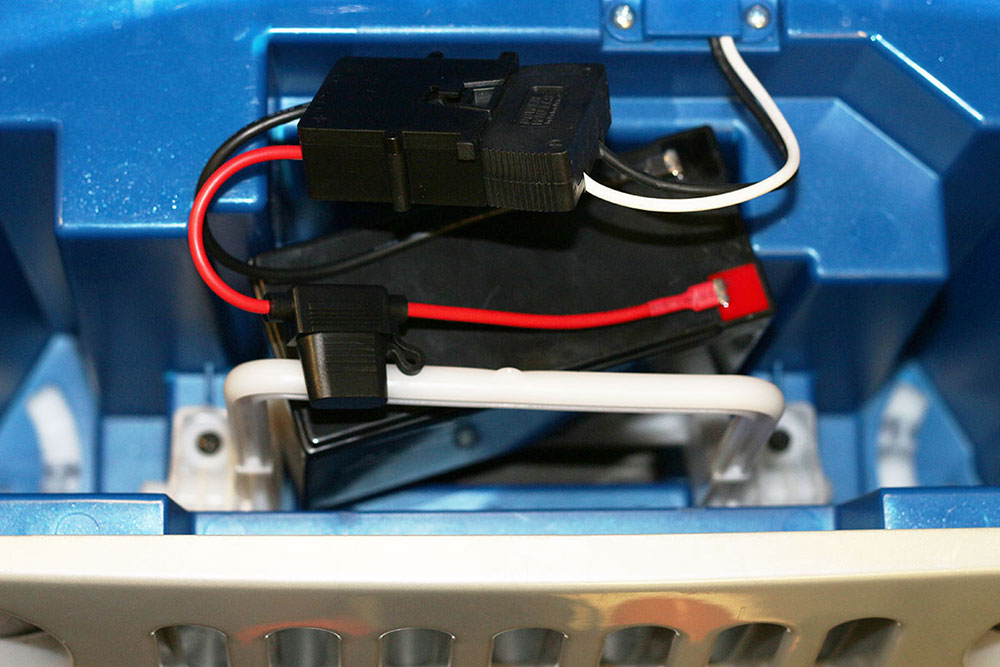 wire harness connector for fisher price 174 power wheels 174 12 volt sla battery ebay